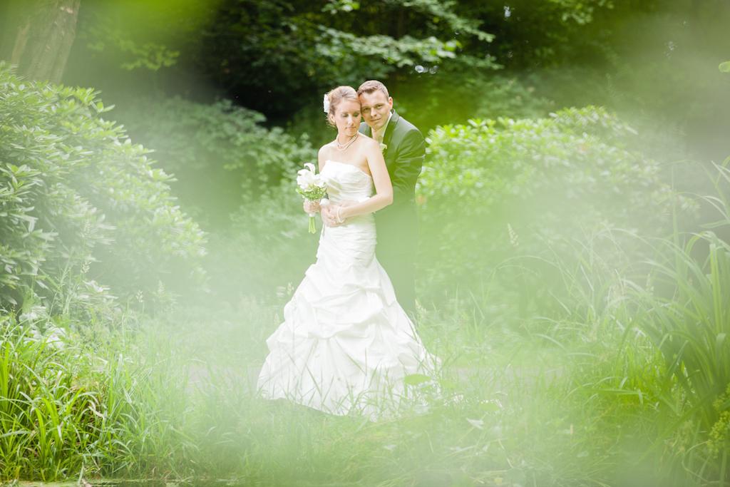 Brautpaarshooting im Grünen Fotograf Nidda