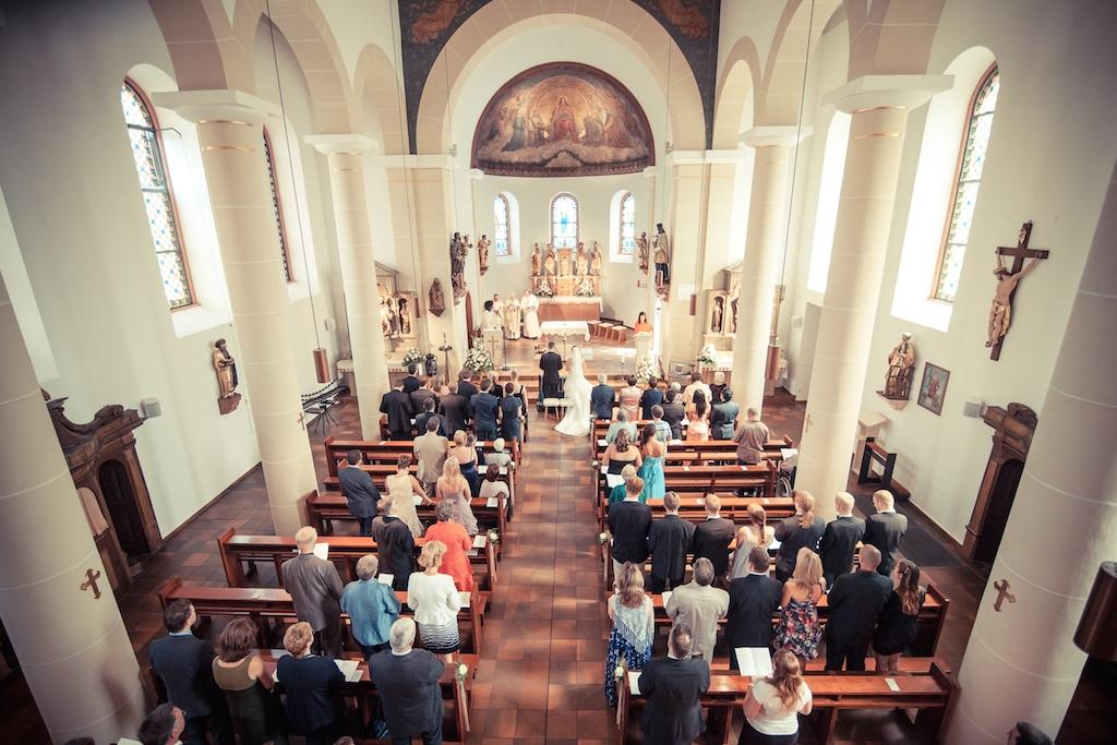 Hochzeit Fotograf Nidda in Kirche