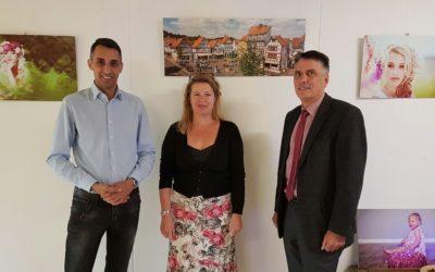 Fotoausstellung im Niddaer Rathaus eröffnet