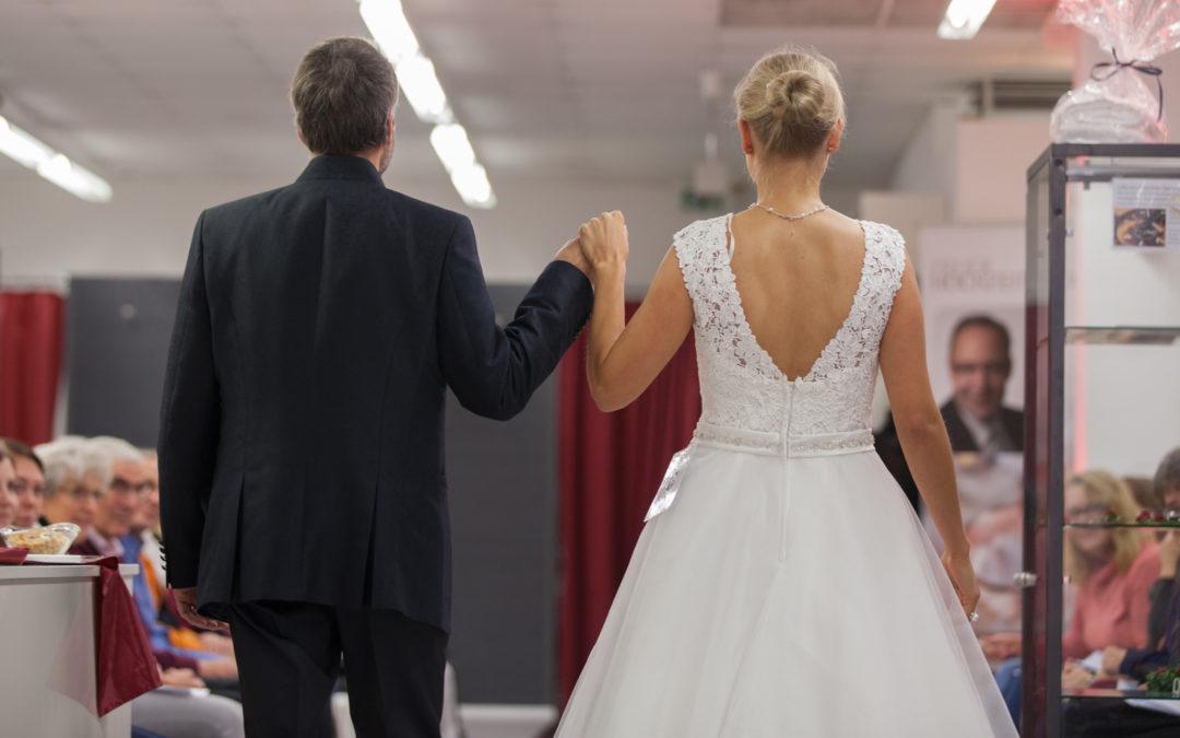 Hochzeitsmodenschau schillerGalerie Nidda