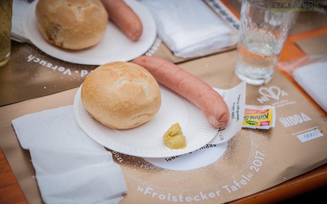 Froistecker Tafel Weltrekord in Nidda