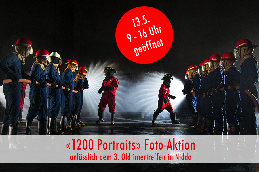 """1200 Portraits"" Foto-Aktion am 3. Oldtimertreffen"
