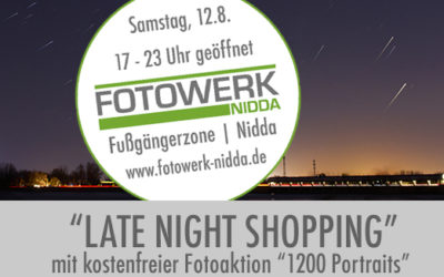 Late Night Shopping in Nidda