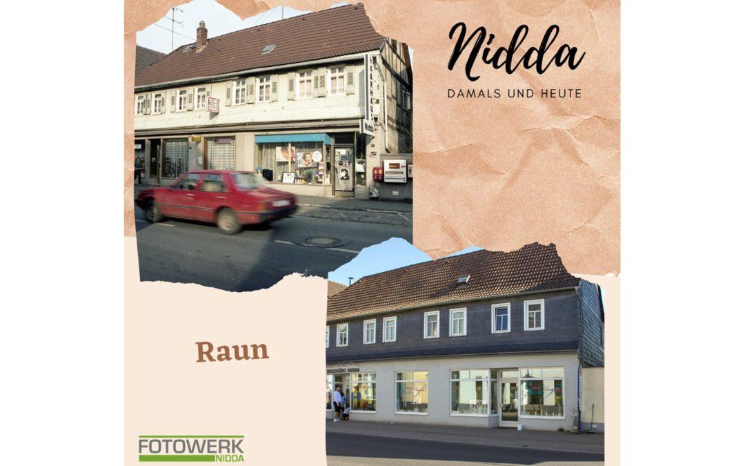 Nidda – damals und heute